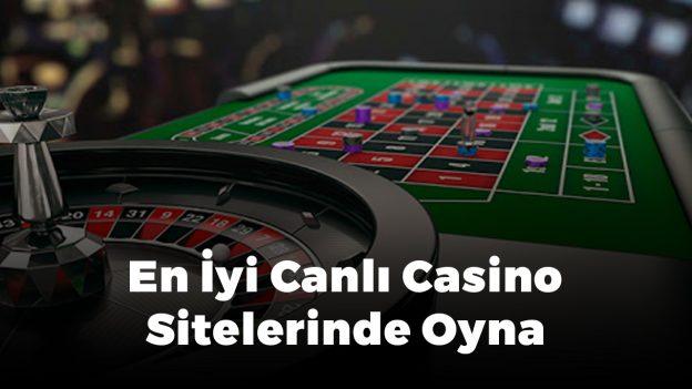 En iyi canlı casino